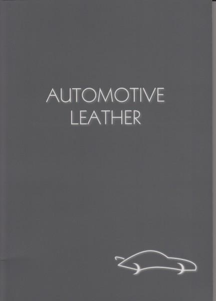 Automobilleder Produktkatalog Meterware Muster Musterbestellung