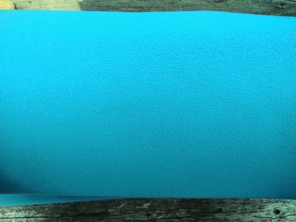 Klettstoff für Polstermöbel usw. Meterware Türkis 140cm