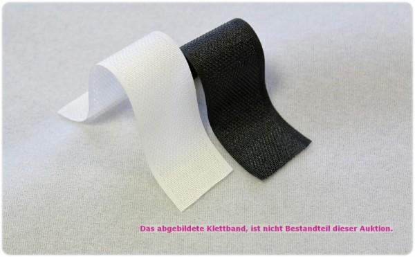 Klettstoff für Polstermöbel usw. Meterware Weiss