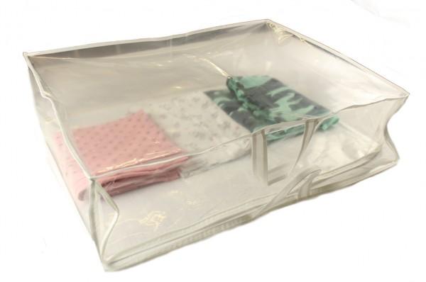 Aufbewahrungstasche für Bettdecken Decken Kissen Tagesdecken Kleidung 70x55x21cm